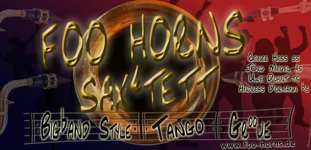 Foo-Horns Sax4tett Saxophonquartett Saxophonquartet Berlin Uwe Dohnt